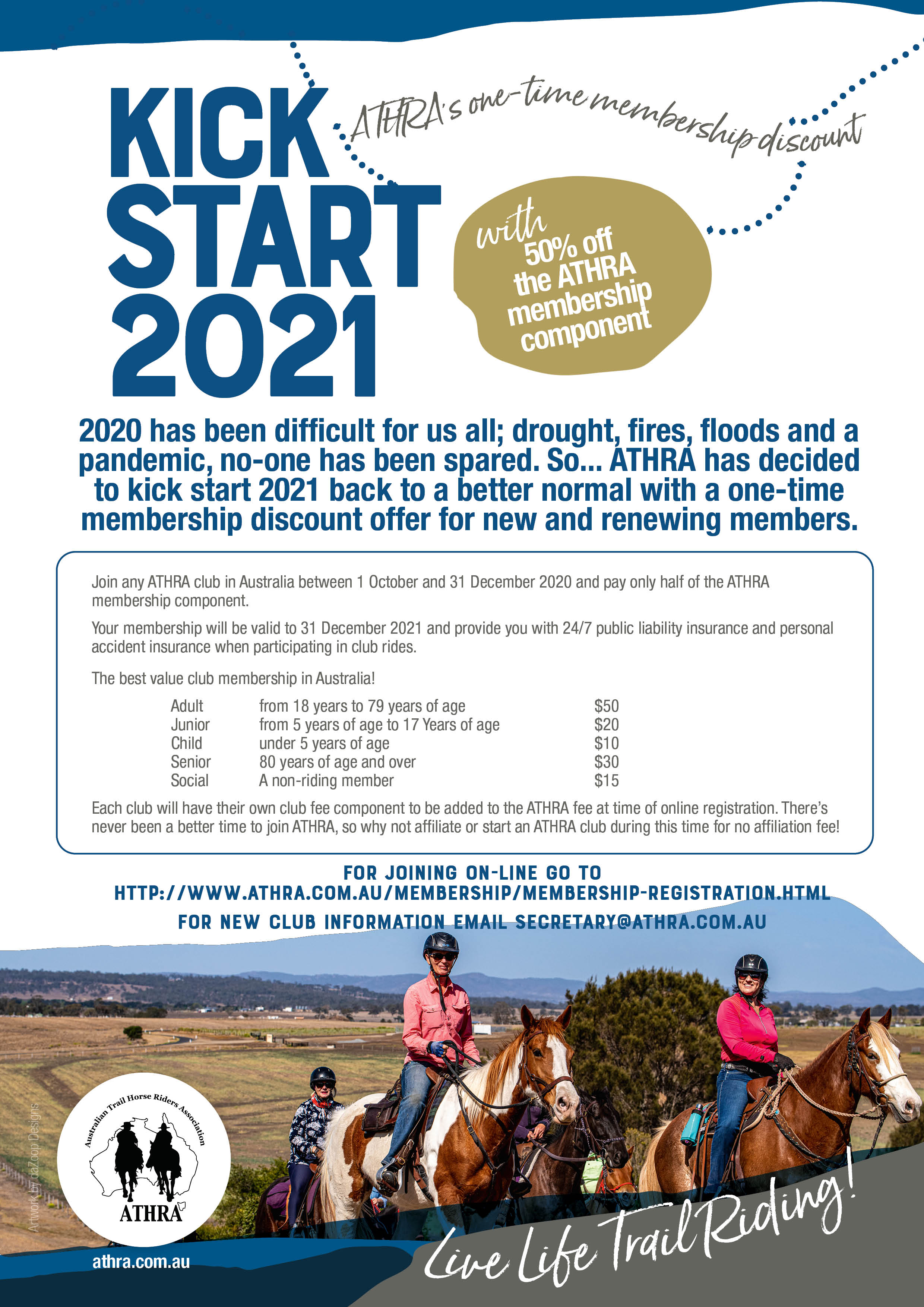 2020 ATHRA Kick Start 2021 Flyer