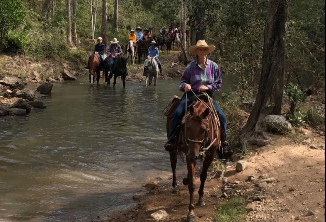 Breakaway Horse Riders Ben Mohr Day Ride