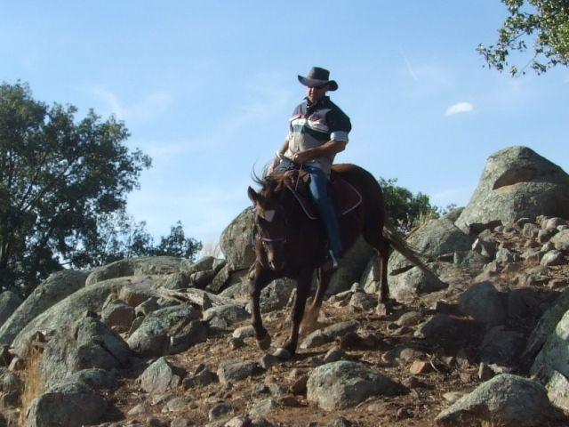 bryan on a rocky hill