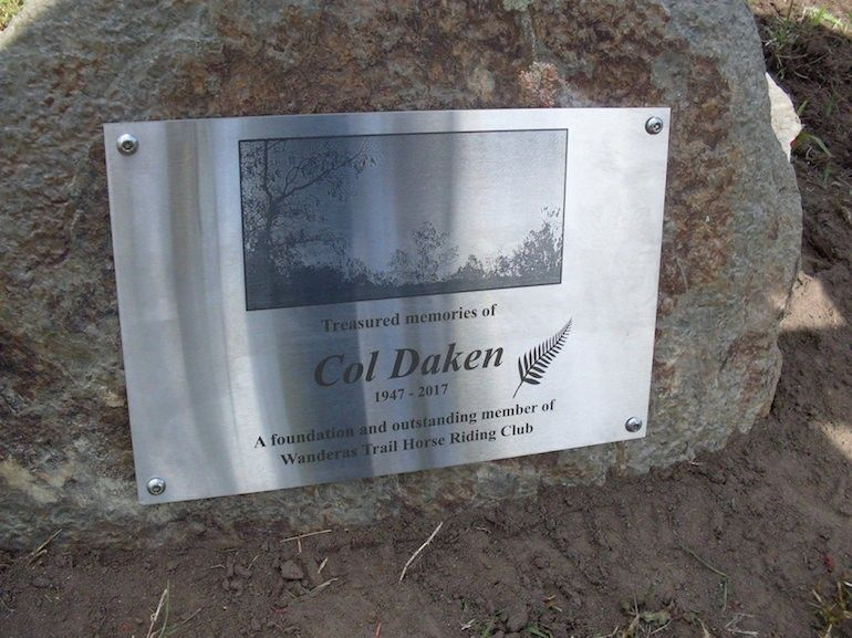 Memorial of the late Col Daiken was held on December 10th followed by morning tea. The  ceremony will include tree planting and un-veiling of the plaque. Col will be so missed by all.