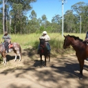 Riders enjoying the day out