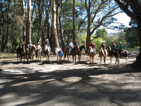 ALex riders and visitors enjoyed the scenic trail and the delicious food. 